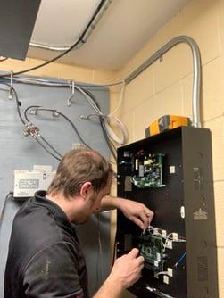 Shane P wiring panel