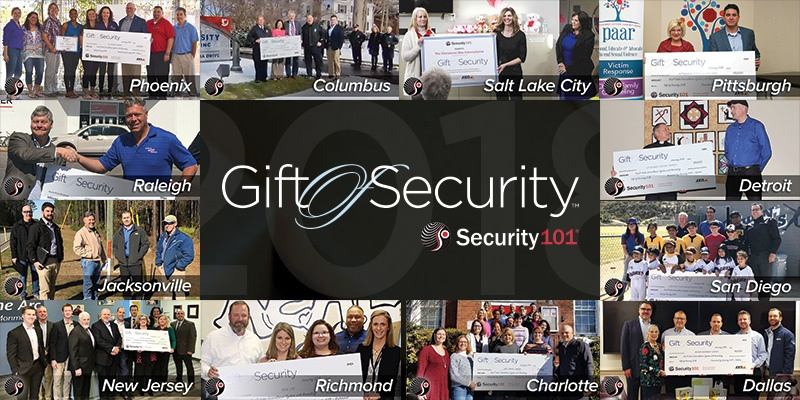 Gift of Security 2018 Award Winners
