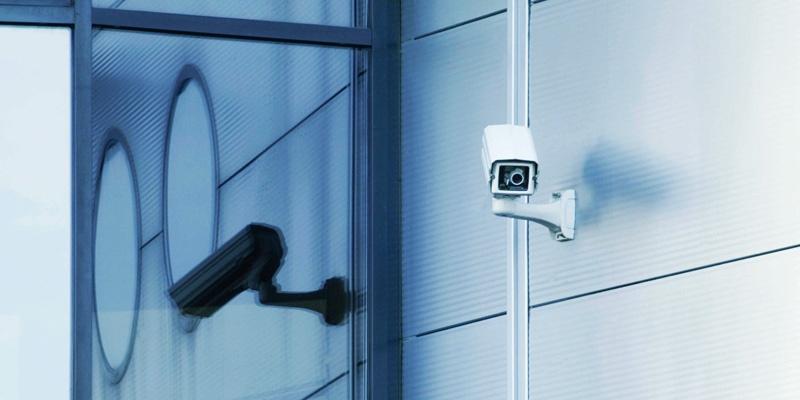 Security cameras do double duty