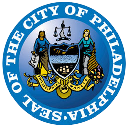 The seal of the city of Philadelphia
